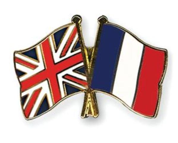 War between French and British