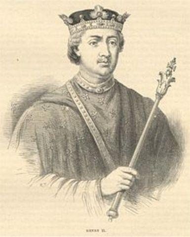 -1189 King Henry II of England