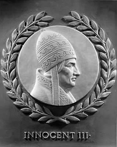 -1216 Pope innocent III