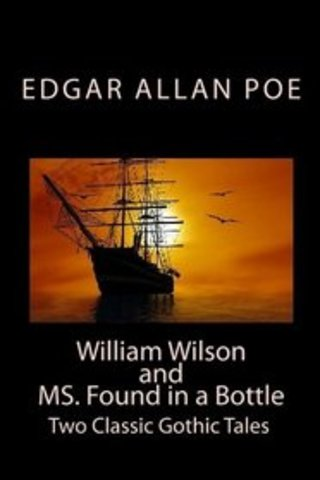 """Poe receieves $50 prize for Ms. Found in a Bottle""""."""