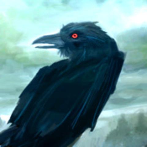 """Poe writes """"The Raven"""""""