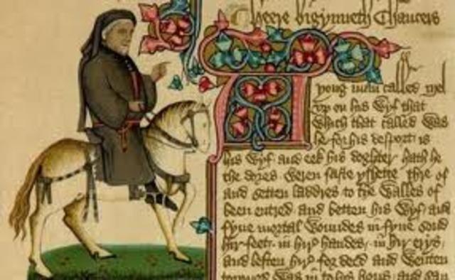 -1400 Geoffrey Chaucer