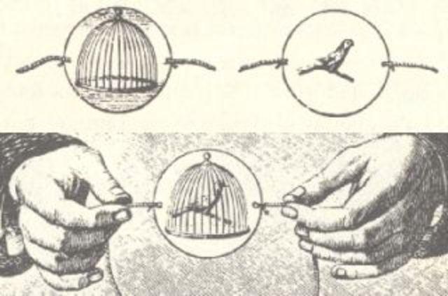 Invención del traumatropo