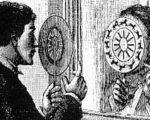 Invención del fenaquistocopio