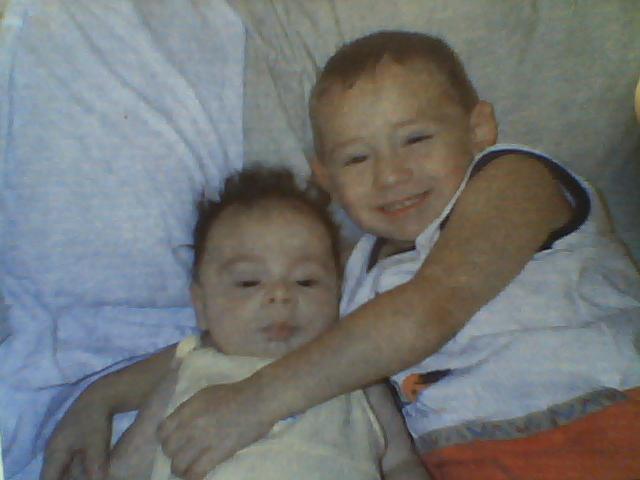 1st little brother born in San Antonio,TX