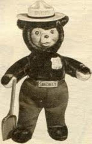 Smokey Bear Doll Creation