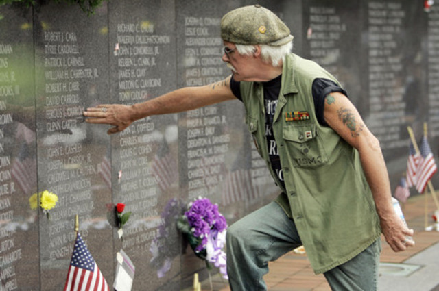 """Vietnam Veterans diagnosed with """"Post-Vietnam Syndrome"""""""