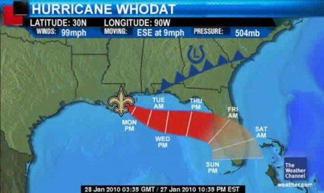 Hurricane Who Dat