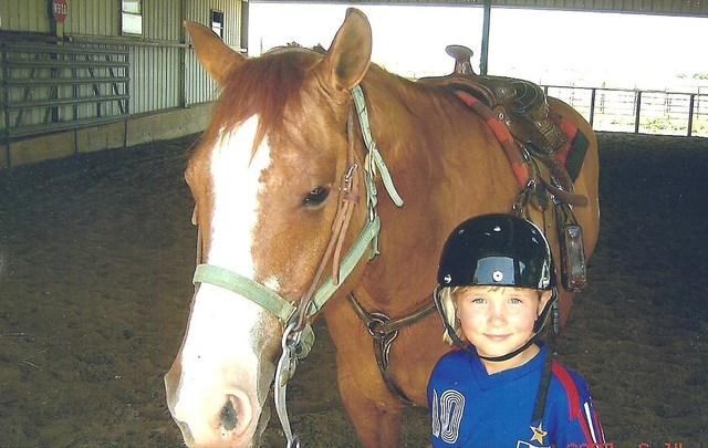 Started horseback riding lessons.