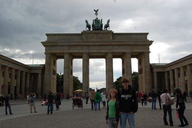 Went to England, Normandy, and Berlin