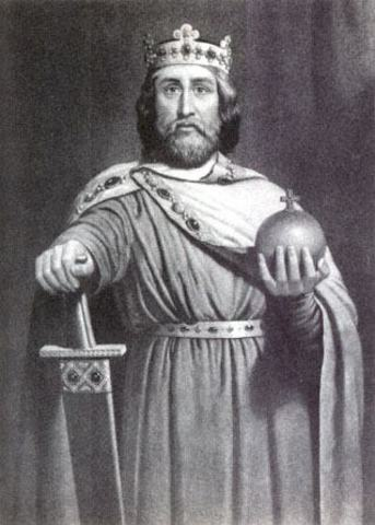 1st King of the Holy Roman Empire