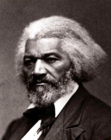 Garrison and Fredrick Douglass leaves Society