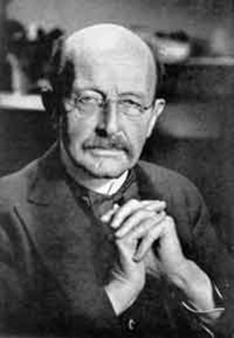 Max Planck is born.
