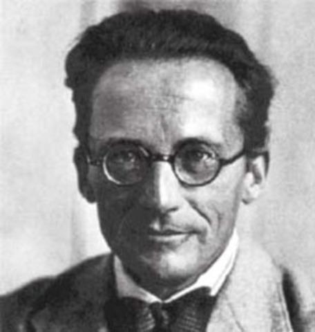 Erwin Schrodinger is born.