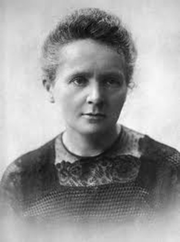 Marie Curie is born.