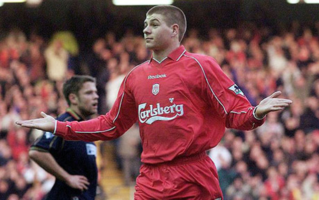 Birth of Steven Goerge Gerrard