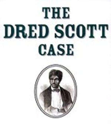 Dred Scott decision announced