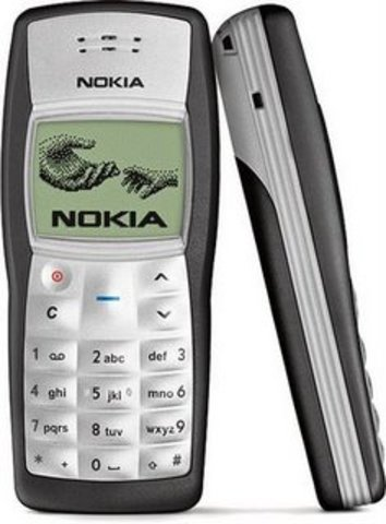 Mi primer teléfono móvil.