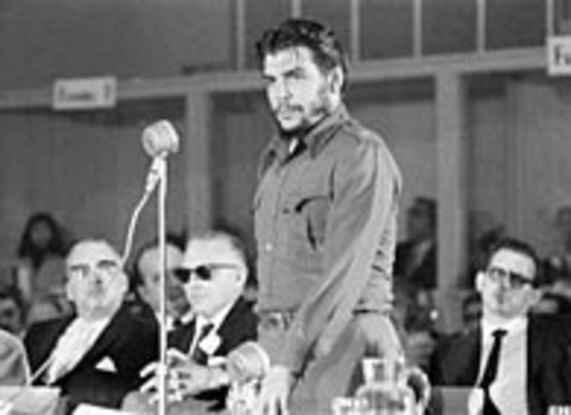 El Che Guevara arriba a Punta del Este