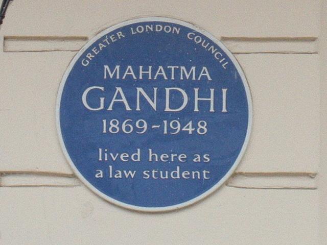 Gandhi in England