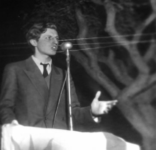 """Ruptura de Zelmar Michelini con Luis Batlle; creación del """"Movimiento por elGobierno del Pueblo""""."""