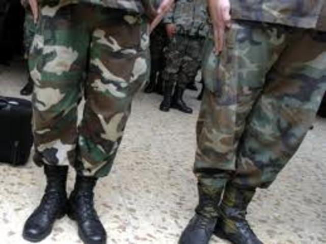 Ministro de Defensa desmiente versiones de prensa sobre reuniones militares.