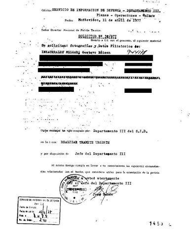 Ley de creación del Servicio de Información de Defensa.