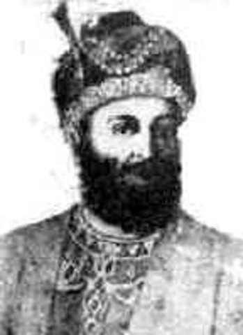Shah Shuja overthrown