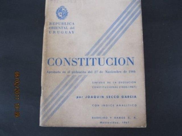 Comienza a regir la nueva constitución