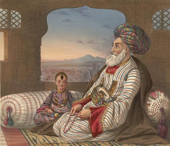 Alexander Burnes meets Dost Mohammad