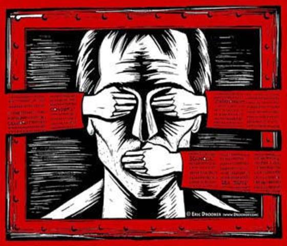 """Limitación del derecho de reunión y prohibición de toda crítica a las decisiones""""antisubversivas"""" del Poder Ejecutivo."""