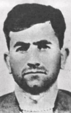 Detención de Raúl Sendic, dirigente del MLN-T.