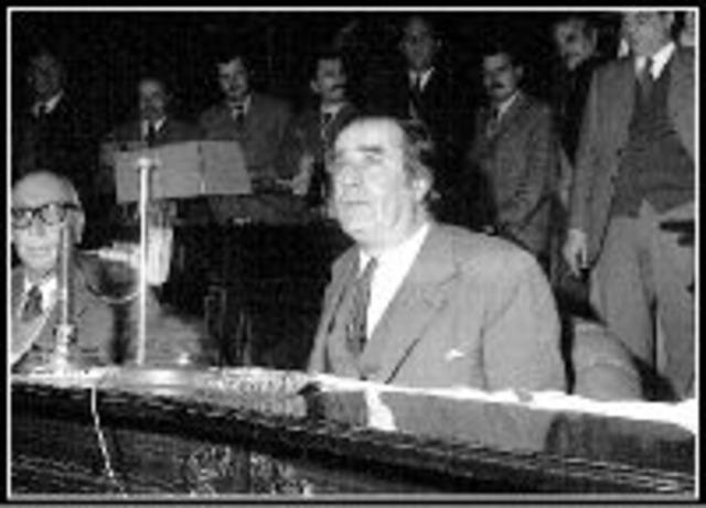 Discurso de Wilson Ferreira Aldunate en el Legislativo