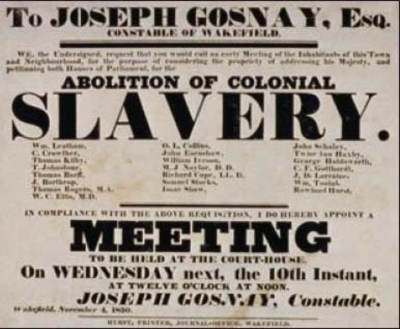 Aboltition of slavery Act