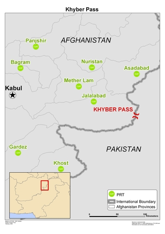 British mission stopped at Khyber Pass