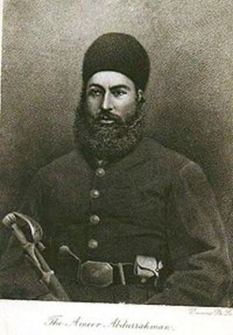 Abdur Rahman Khan officially recognized as amir