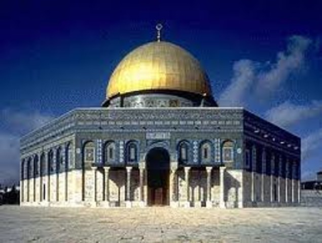 Construction of Dome of the Rock