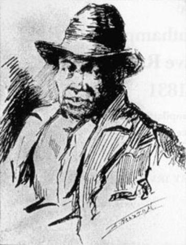 Nat Turner Slave Rebellion In VA Kills 70 Whites AGAINST SLAVERY