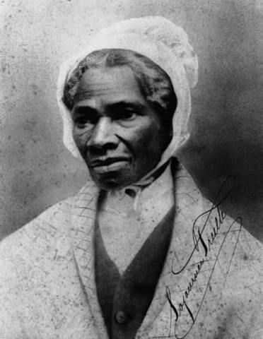 Sojourner Truth Crosses The Country To Preach Women's Rights and AGAINST SLAVERY.