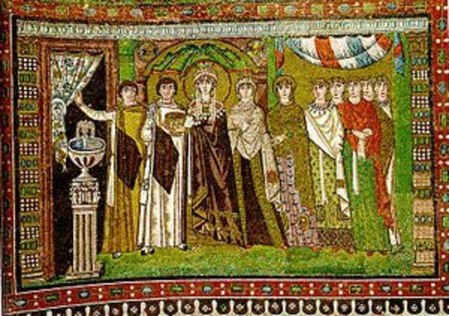 Theodora and Attendants