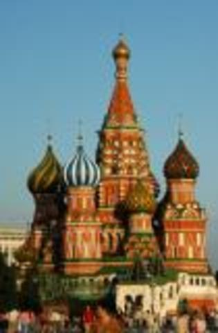 Saint Basil's Cathedral [Moscow, 1555-1561