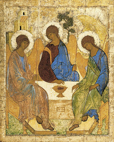 Andrei Rublev, Old Testament Trinity