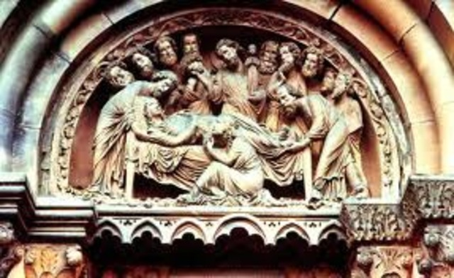 Death of the Virgin at Strasbourg Cathedral
