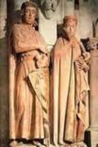 1.Ekkehard and Uta at Naumberg Cathedral [Germany, 1249-1255]
