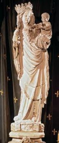 Virgin of Paris at Notre Dame