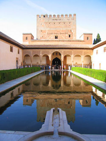 Hall of the Two Sister in the Alhambra