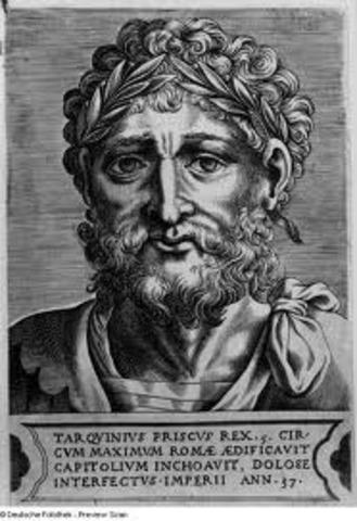 Tarquinius Priscus 570-632