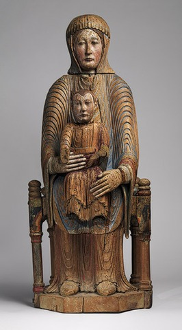 The Morgan Madonna, a.k.a. Virgin and Child in Majesty