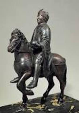 Equestrian Statue of a Carolingian Ruler