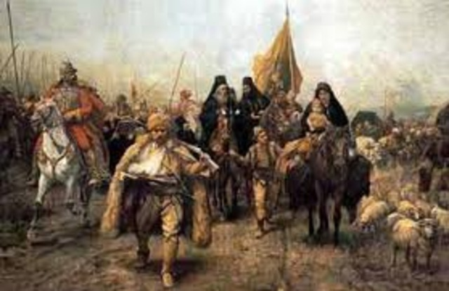 The Slavs overun the Greeks
